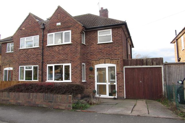 Thumbnail Semi-detached house for sale in Kingsway, Braunstone, Leicester