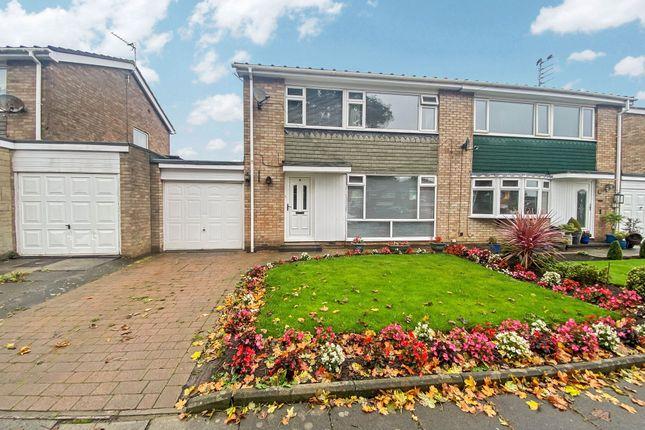 3 bed semi-detached house for sale in Grindon Close, Cramlington NE23