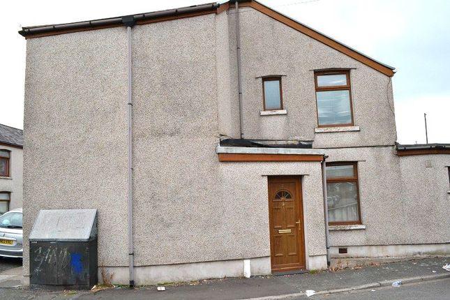 Outside of Hopkin Street, Aberavon, Port Talbot, Neath Port Talbot. SA12