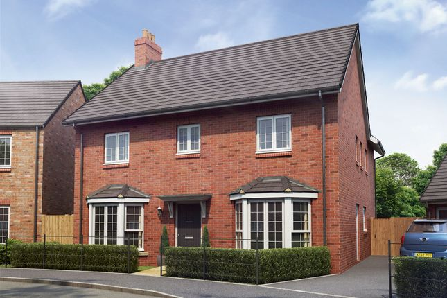 "Thumbnail Detached house for sale in ""The Sandringham"" at Hartburn, Morpeth"