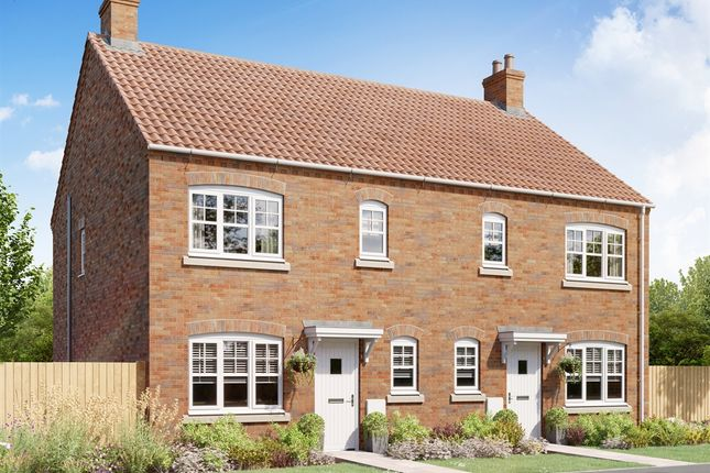 """2 bed semi-detached house for sale in """"The Butterrambe"""" at Bishopdale Way, Fulford, York YO19"""