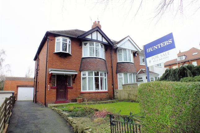 Thumbnail Semi-detached house for sale in Stainbeck Road, Meanwood, Leeds