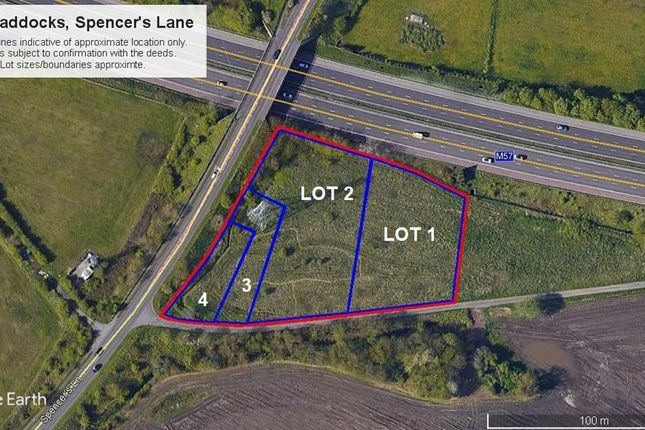Thumbnail Land for sale in The Paddocks, Spencers Lane, Melling