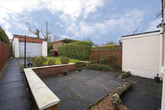 Garden of Park Terrace, Brightons, Falkirk FK2