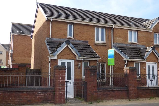 Thumbnail End terrace house for sale in Jersey Quay, Aberavon, Port Talbot.