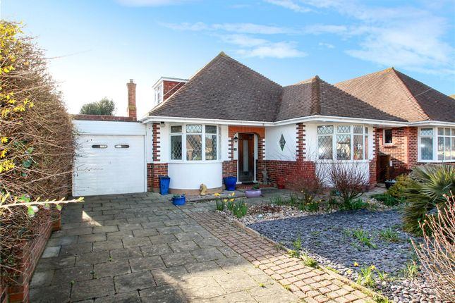Thumbnail Bungalow for sale in Southsea Avenue, Goring By Sea, Worthing, West Sussex