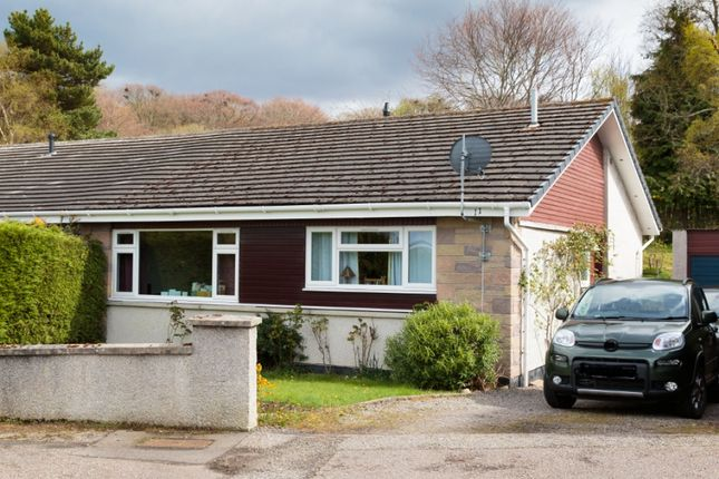 Thumbnail Semi-detached bungalow for sale in 11 Cradlehall Park, Westhill, Inverness
