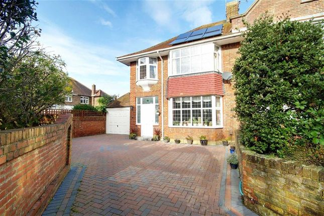 Thumbnail Semi-detached house for sale in Treveor Close, Worthing, West Sussex