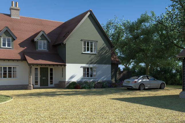 Thumbnail Detached house for sale in Bannister Green, Felsted, Dunmow