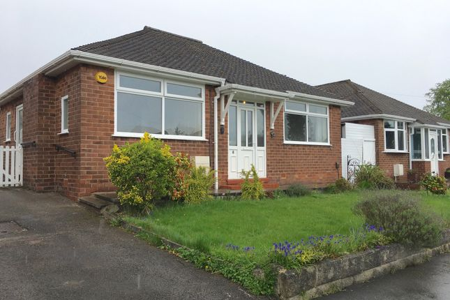 Thumbnail Detached bungalow to rent in Evesham Road, Cheadle Hulme