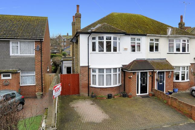 Thumbnail Semi-detached house for sale in Saxon Road, Westgate-On-Sea