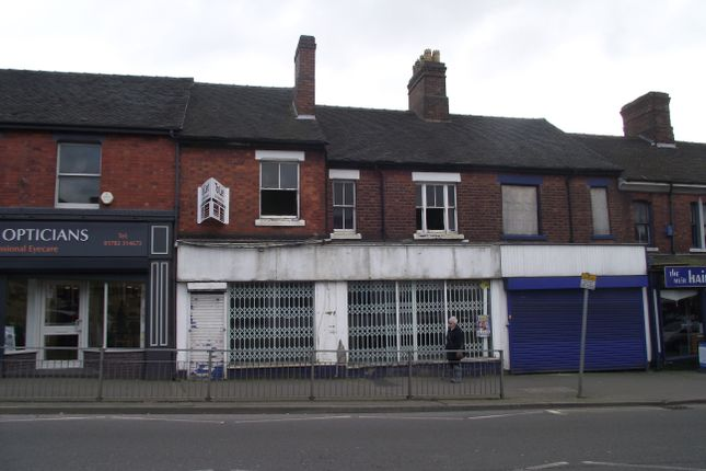 Retail premises for sale in Weston Road, Stoke-On-Trent