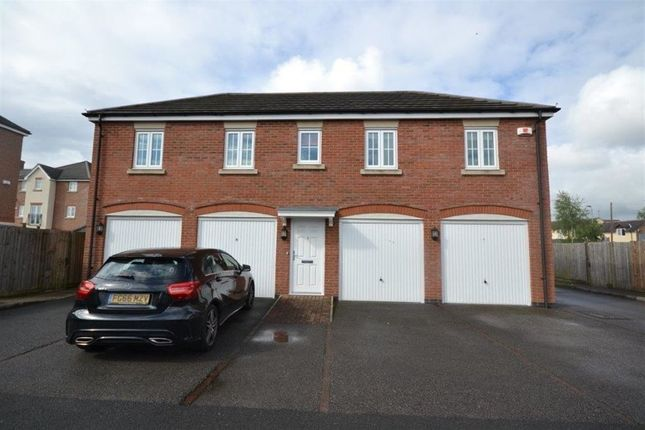 Thumbnail Maisonette to rent in Two Steeples Square, Wigston, Leicester