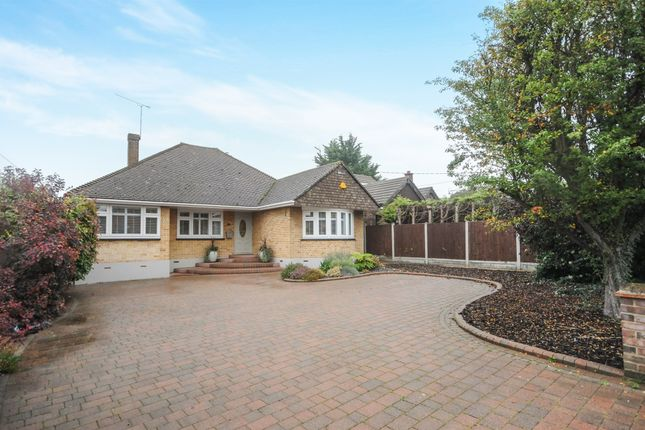 Thumbnail Detached bungalow for sale in East Hanningfield Road, Rettendon Common, Chelmsford
