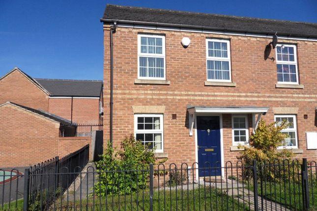 Thumbnail End terrace house for sale in Mallard Close, Heckmondwike, West Yorkshire