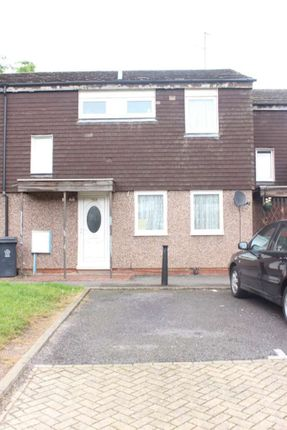 Thumbnail Terraced house to rent in Butterwick Drive, Beaumont Leys Lane, Leicester.