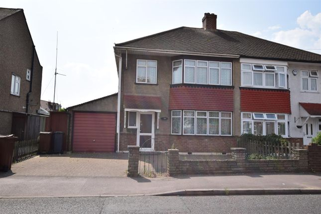 Thumbnail Semi-detached house for sale in Mill Lane, Chadwell Heath, Romford