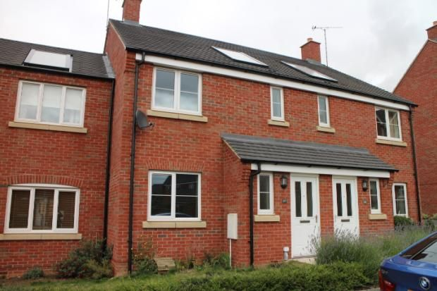 Thumbnail Terraced house to rent in Tyne Way, Rushden