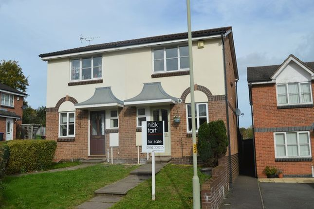 Thumbnail Semi-detached house for sale in Eleanors Close, Aqueduct, Telford, Shropshire.