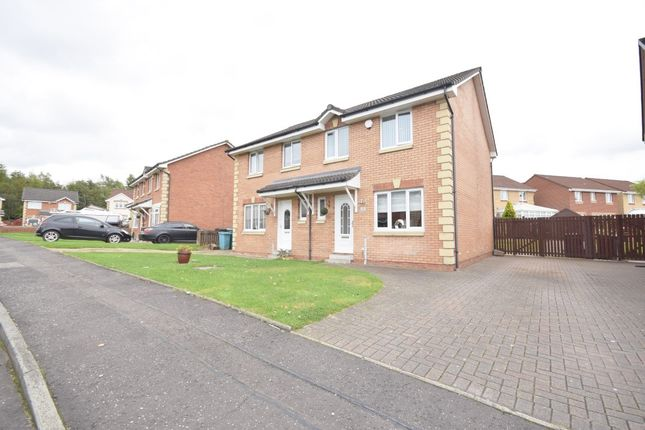 Thumbnail Semi-detached house for sale in Balfron Drive, Coatbridge