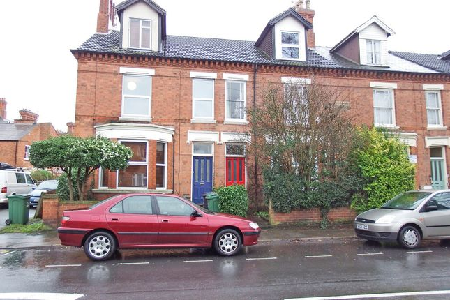 Thumbnail End terrace house to rent in Beacon Road, Loughborough