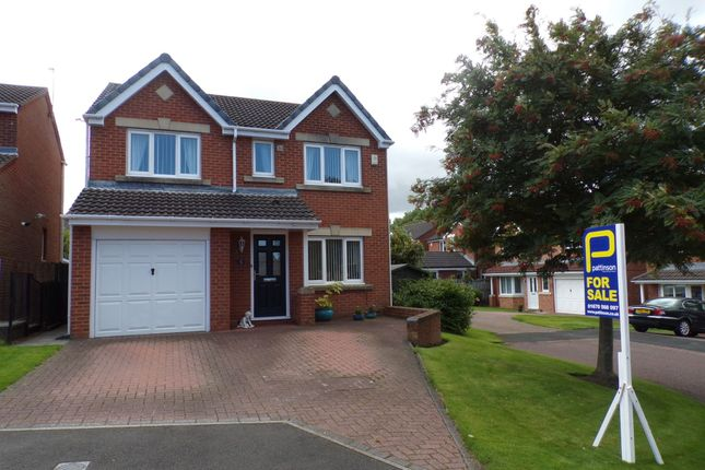 Thumbnail Detached house for sale in Chollerton Drive, Bedlington