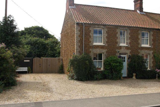 Thumbnail Cottage for sale in Station Road, Snettisham, King's Lynn