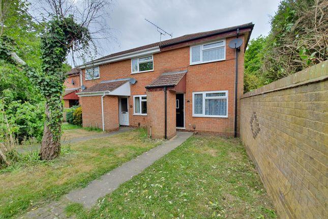Thumbnail End terrace house to rent in Deridene Court, Totton, Southampton