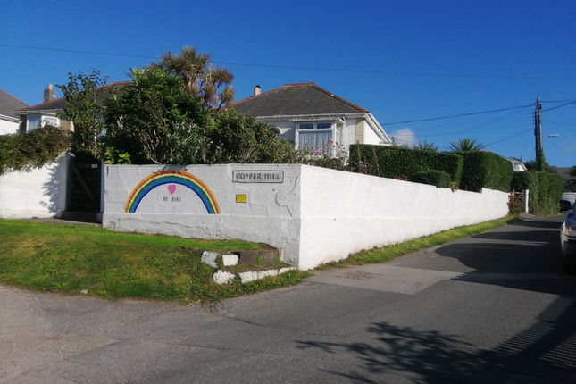 Thumbnail Detached bungalow for sale in Copper Hill, Hayle