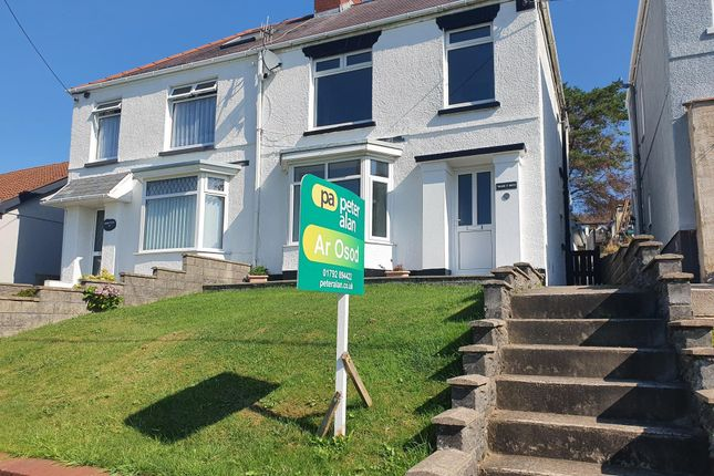 Thumbnail Semi-detached house to rent in Carmarthen Road, Fforest, Swansea