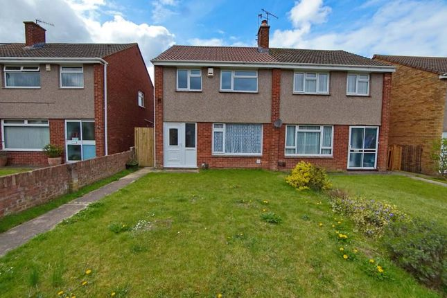 3 bed semi-detached house to rent in Rowacres, Hengrove, Bristol BS14