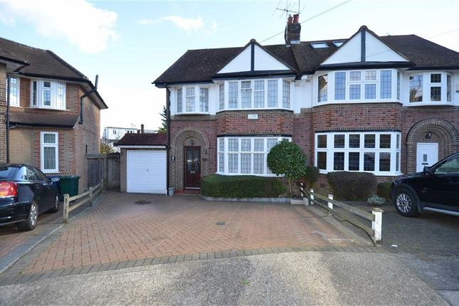 Thumbnail Property for sale in Rodmell Slope, London