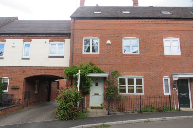 Thumbnail Town house to rent in Two Trees Close, Hopwas, Tamworth