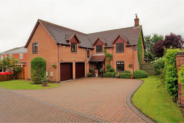 Thumbnail Detached house for sale in Hall Gardens, Ravenstone