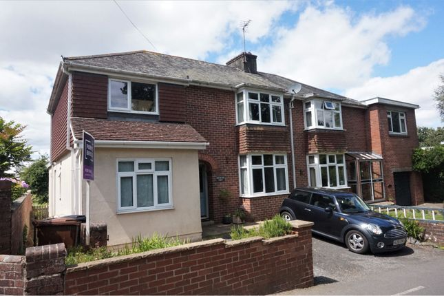 Thumbnail Semi-detached house for sale in Cott Road, Totnes