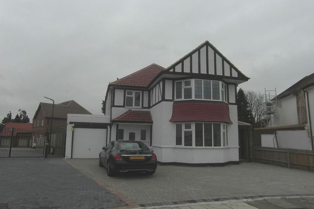 Thumbnail Detached house to rent in Woodhill Crescent, Kenton, Harrow