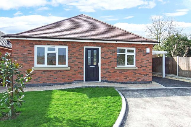 Thumbnail Detached bungalow for sale in Goodes Avenue, Syston, Leicester, Leicestershire