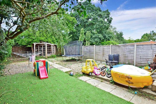 Rear Garden of Ashford Drive, Kingswood, Maidstone, Kent ME17