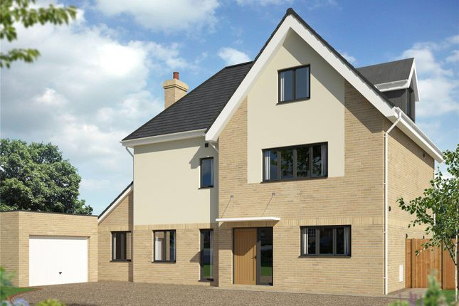 Thumbnail Detached house for sale in Gazeley Road, Trumpington, Cambridge