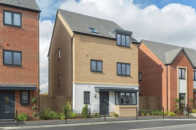 "Thumbnail Semi-detached house for sale in ""The Harrogate"" at Westlake Avenue, Hampton Vale, Peterborough"