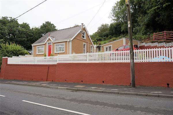 Thumbnail Detached bungalow for sale in Heol Capel Ifan, Llanelli
