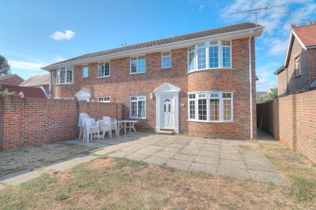 Thumbnail Semi-detached house for sale in Cornfield Close, Wick, Littlehampton