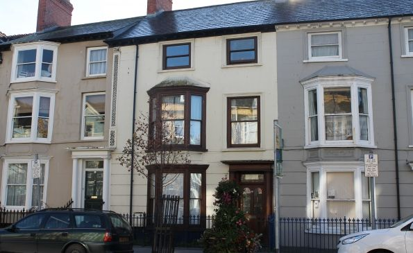 Thumbnail Maisonette to rent in 39 North Parade, Aberystwyth