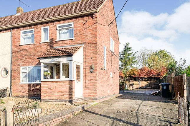 Thumbnail Semi-detached house for sale in Thornton Crescent, Church Langton, Market Harborough
