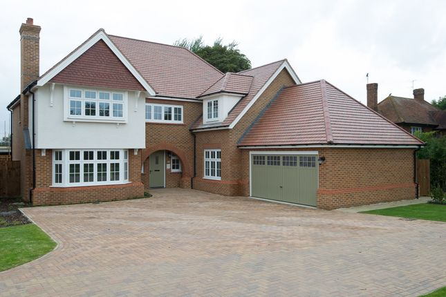 Thumbnail Detached house for sale in Weston Grove, New Road, Weston Turville, Aylesbury