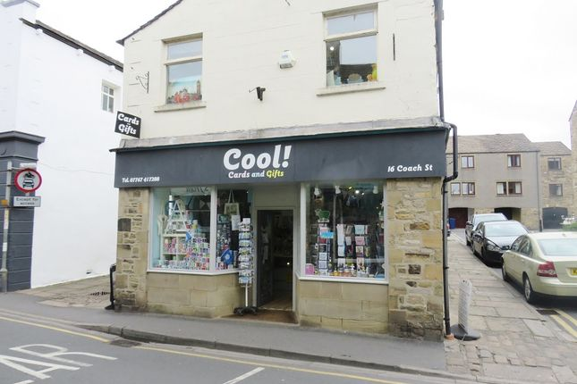 Retail premises for sale in Coach Street, Skipton