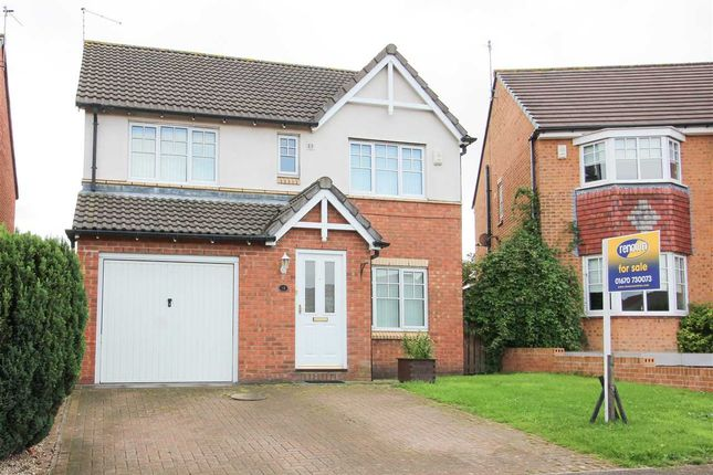 Thumbnail Detached house for sale in Glazebury Way, Northburn Manor, Cramlington
