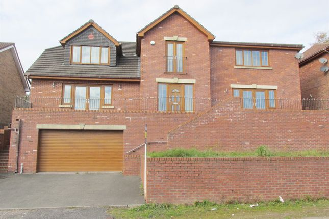 Thumbnail Detached house for sale in Springfield Rise, Treharris