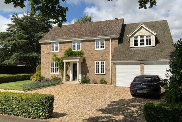 Thumbnail Detached house for sale in Home Farm Lane, Bury St. Edmunds