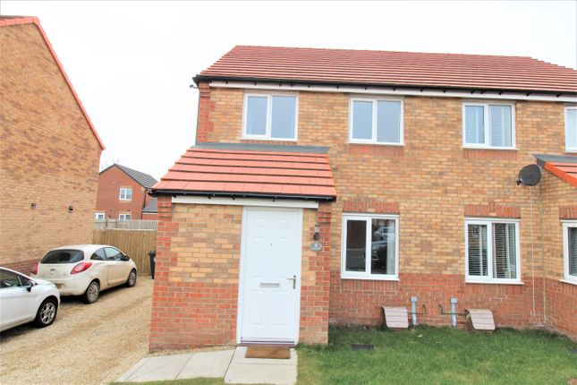 Thumbnail Semi-detached house for sale in Finegan Place, Middlesbrough